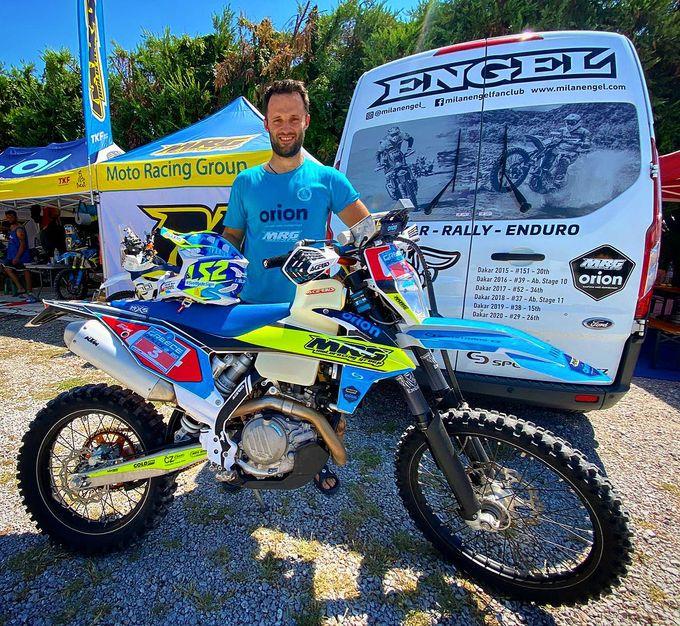 Milan Engel na Řecké rallye