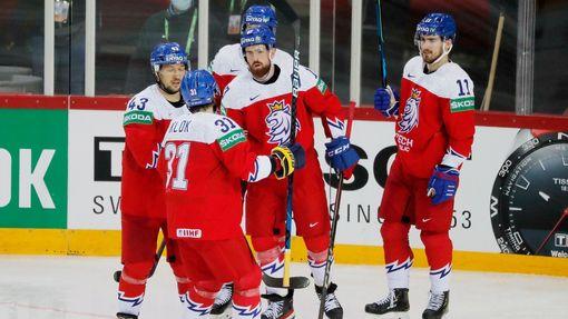 Česká radost v zápase Česko - Británie na MS 2021